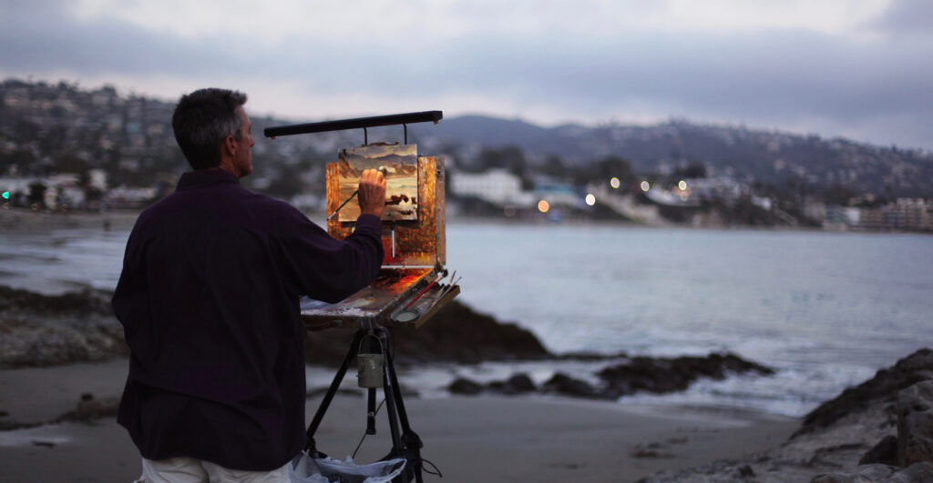 Laguna Plein Air Invitational Artist Michael Obermeyer