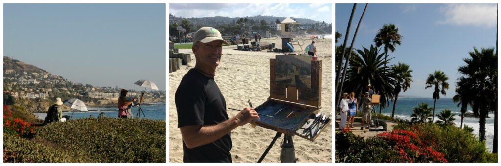 Laguna Plein Air Painting Demos