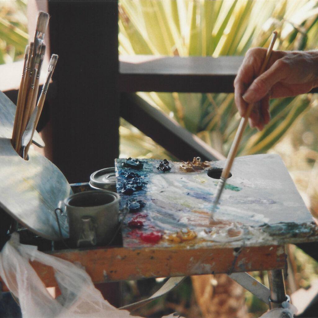 Laguna Plein Air Invitational outdoor painting