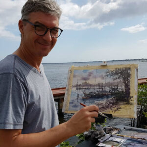 Laguna Plein Air Invitational Artist Vladislav Yeliseyev