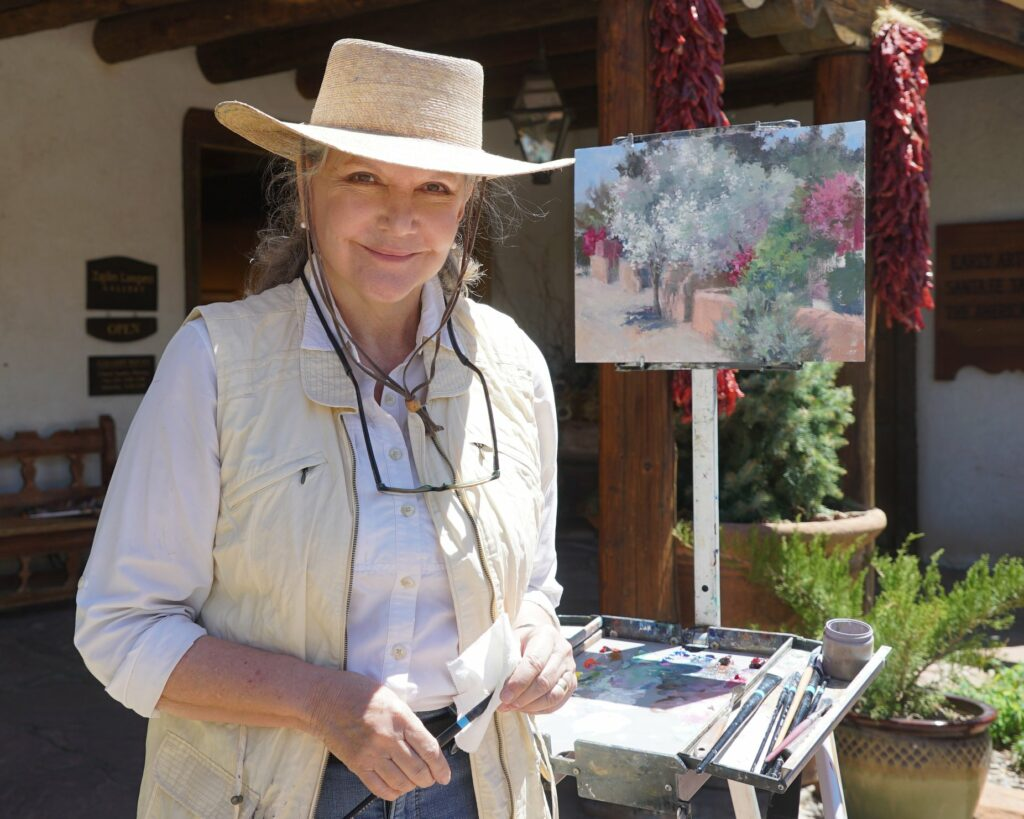 Laguna Plein Air Invitational Artist Joe Anna Arnett