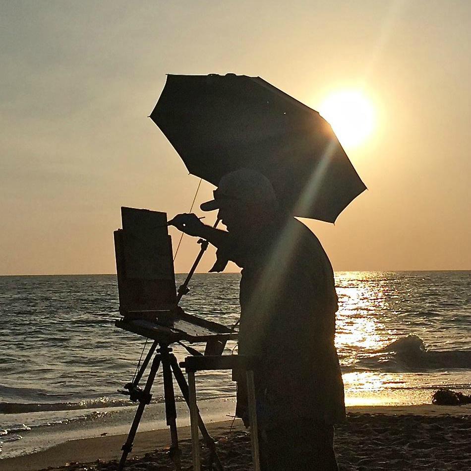 Laguna Plein Air Artist Anthony Salvo