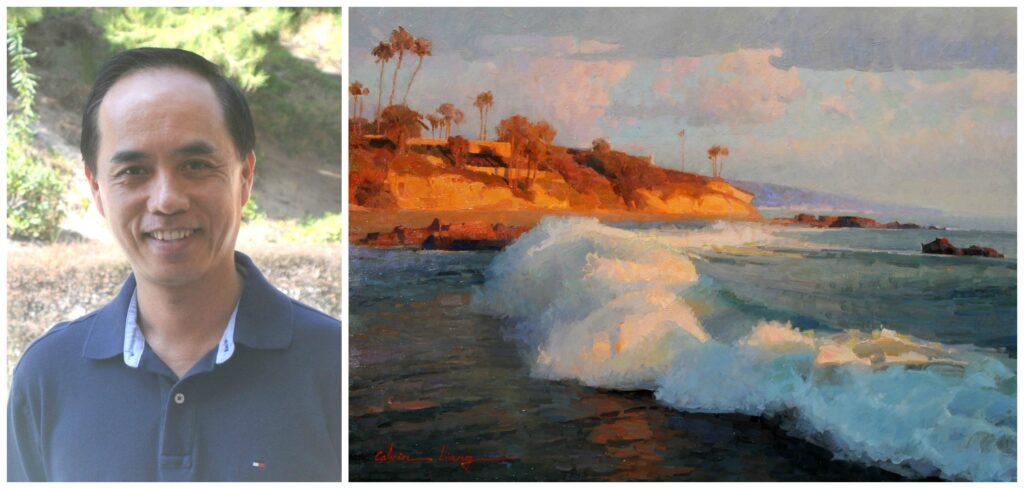 Laguna Plein Air Invitational Artist Calvin Liang