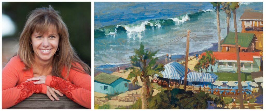 Laguna Plein Air Invitational Artist Rita Pacheco