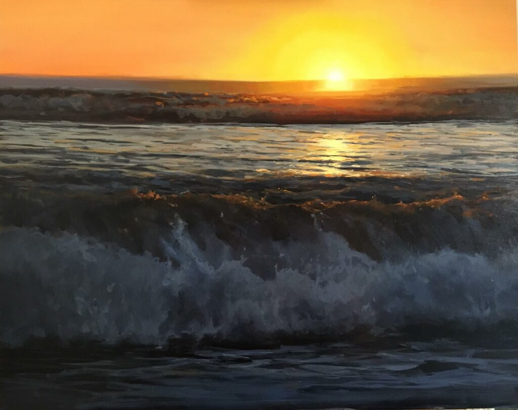 """End of Summer"" by LPAPA Artist Rebecca Arguello"