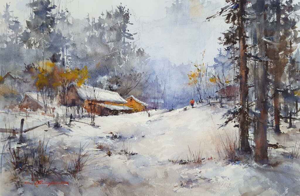 """Winter Wonderland"" by LPAPA Signature Artist Shuang Li"