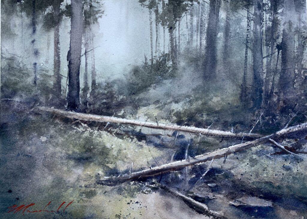 """Tranquil Passage"" by LPAPA Signature Artist Daniel Marshall"