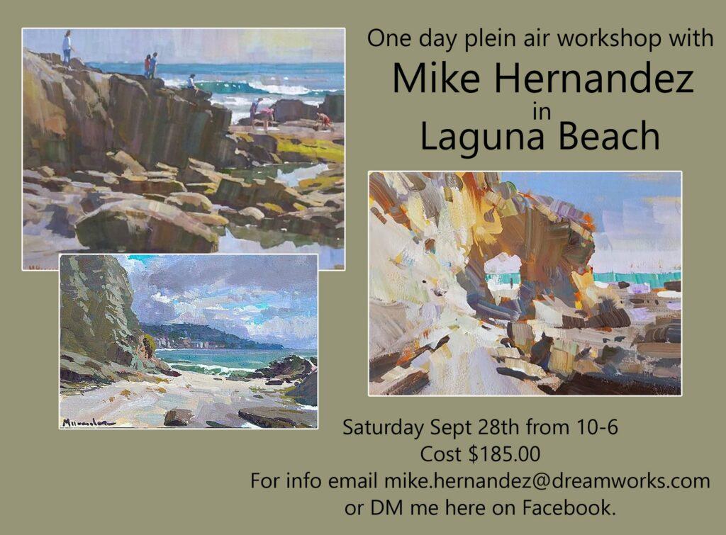 LPAPA Signature Artist Mike Hernandez