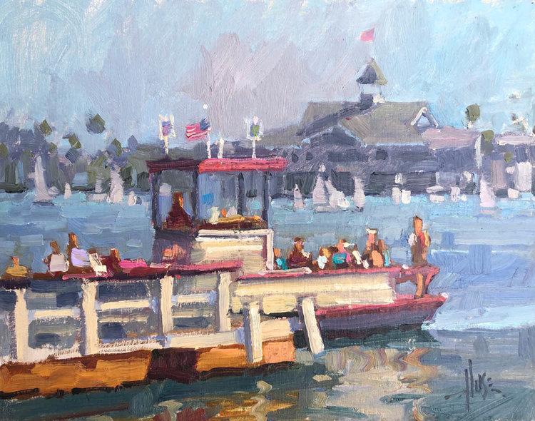 Debra Huse PaintingWorkshop