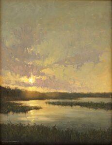 Back Bay Evening by Jane Hunt
