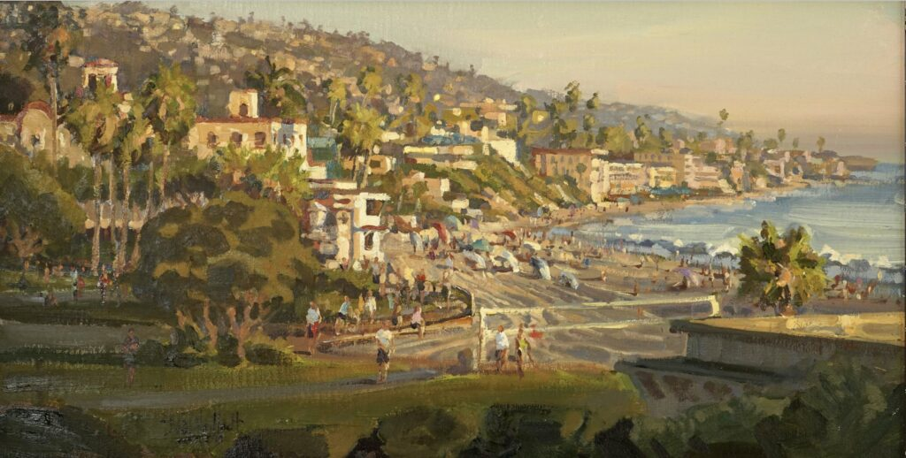 Main Beach Magic by Dan Mondloch