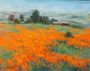 Poppies Forever by Joe Anna Arnett