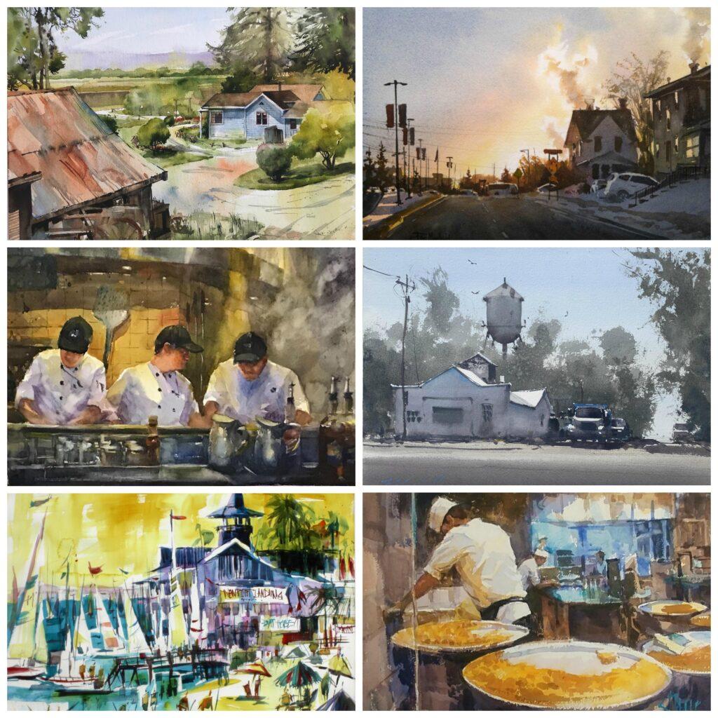 Waterworks 2020 Award Winner Collage
