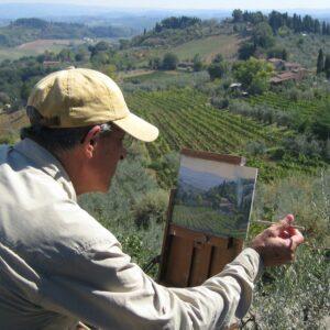 LPAPA Signature Artist Member John Budicin painting