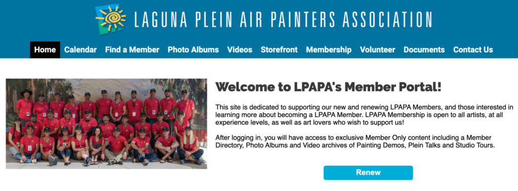 LPAPA Member Portal