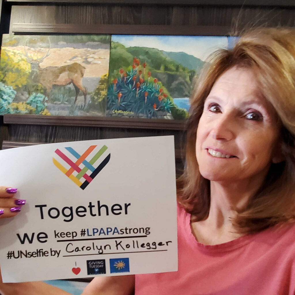 Carolyn Kollegger LPAPA Strong