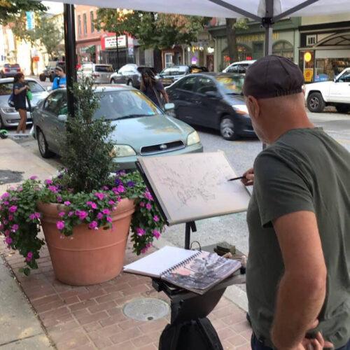 Plein Talk with Thomas Bucci