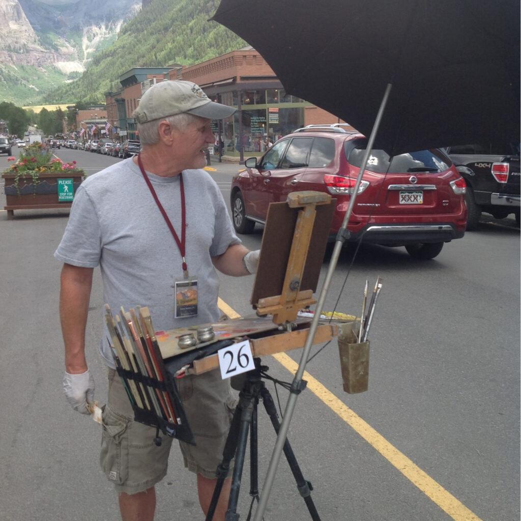 LPAPA Artist Member John White