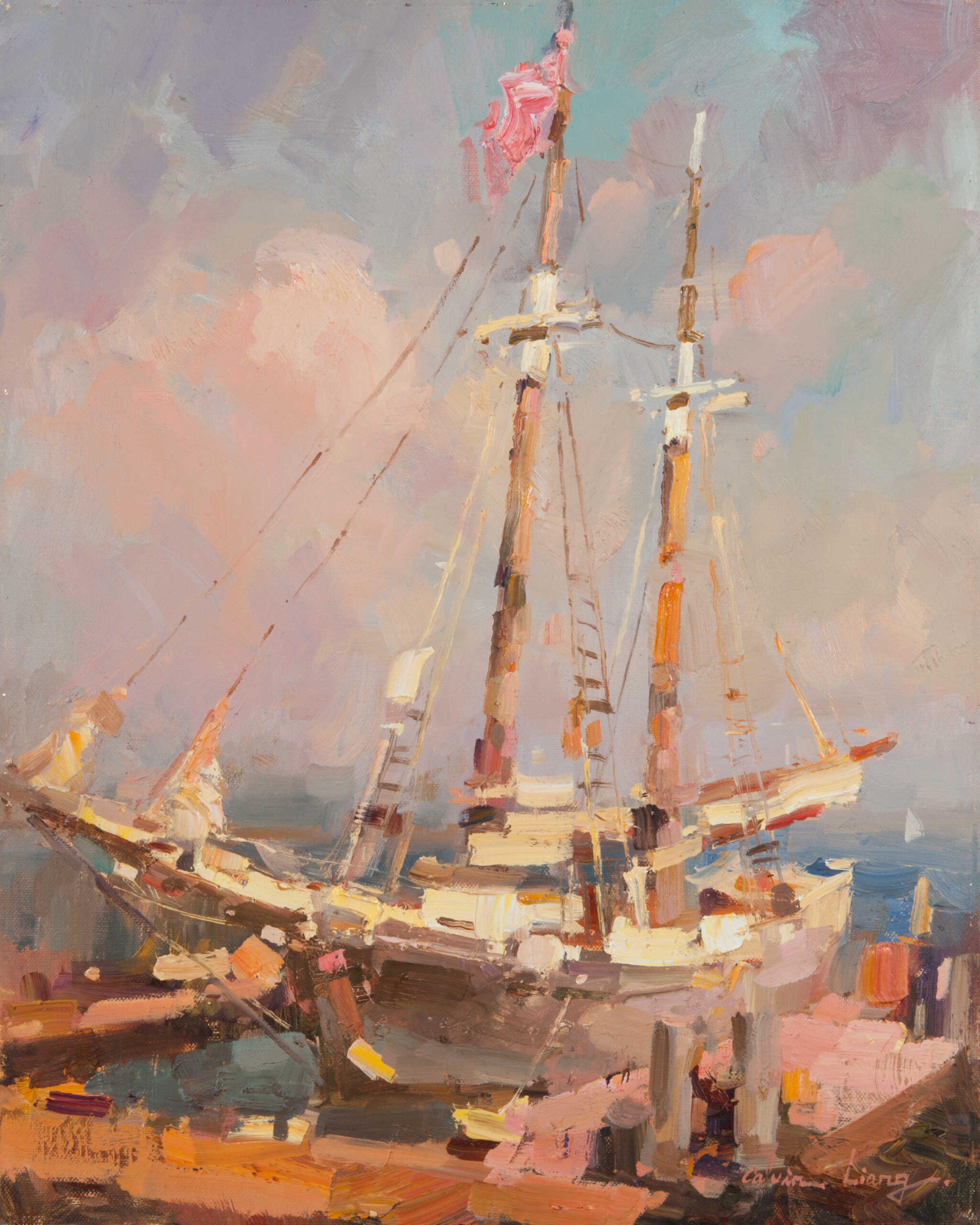 Laguna Plein Air Invitational Calvin Liang