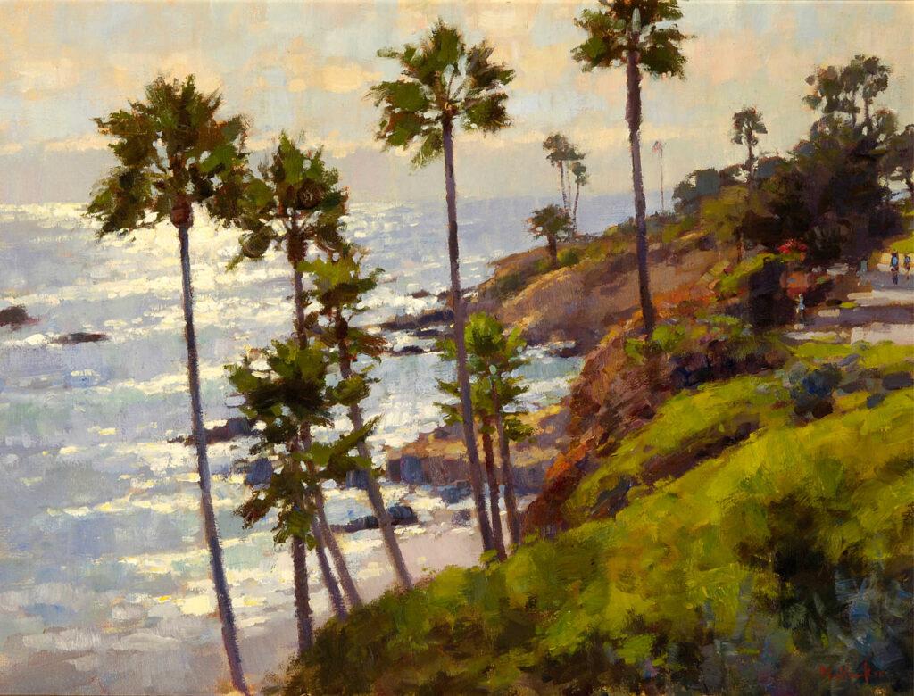 Heisler Park Sunlight by Jim McVicker, Laguna Invitational
