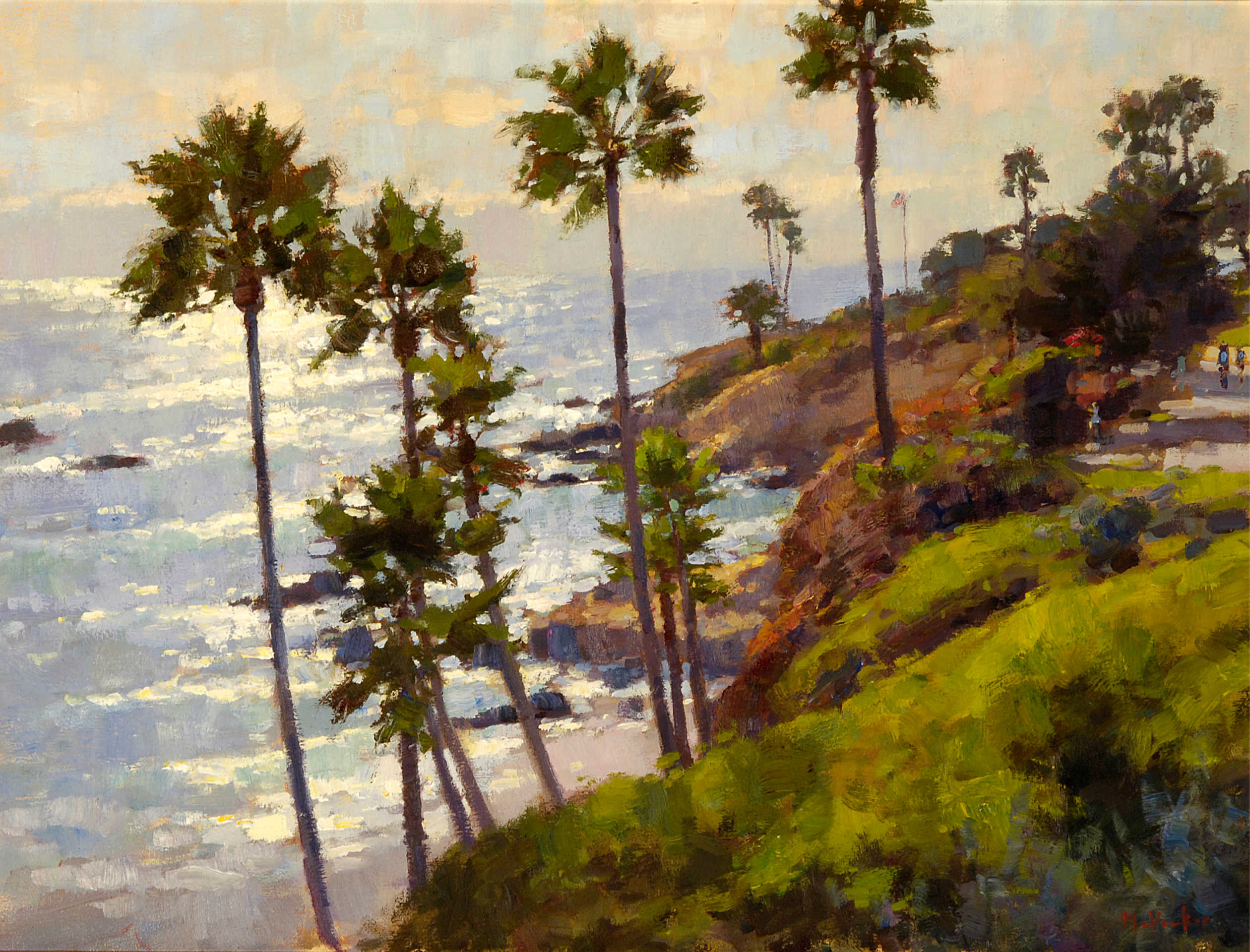 Heisler Park Sunlight by Jim McVicker, Laguna Invitational