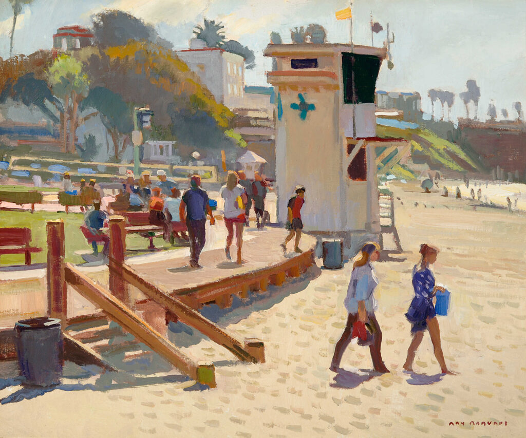 Laguna Invitational, Ray Roberts, Morning on Main Beach