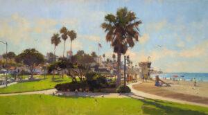Laguna Invitational Morning at Main Beach by Jim McVicker