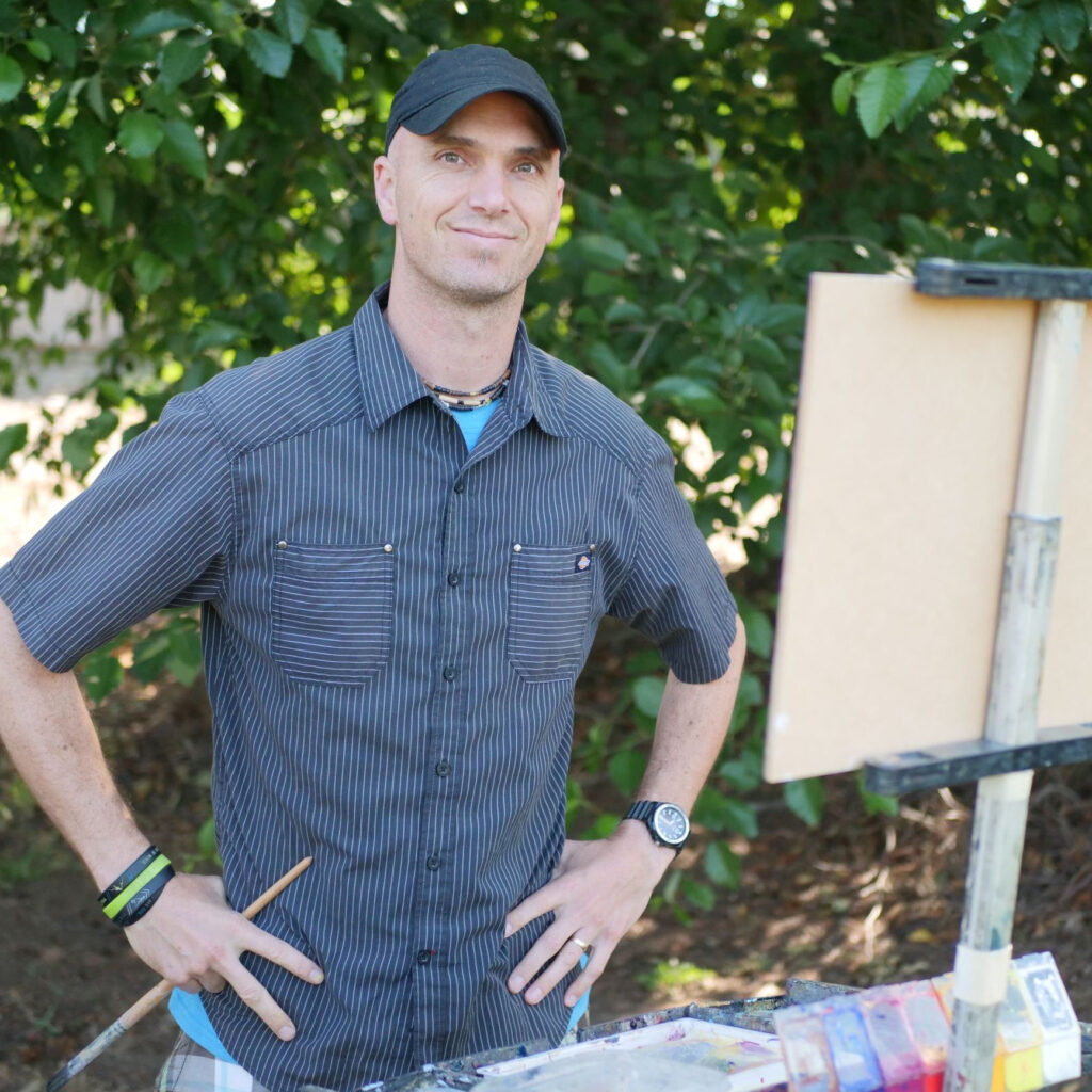 Laguna Plein Air Invitational Artist Jed Dorsey