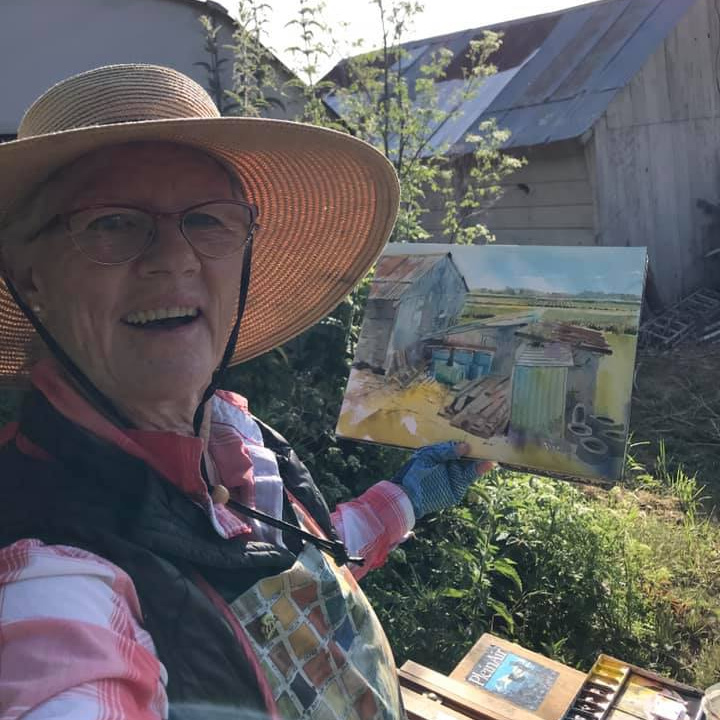 Laguna Plein Air Invitational Artist Barbara Tapp