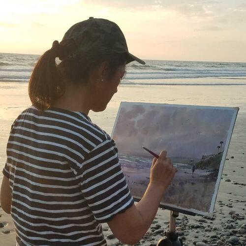 LPAPA Signature Artist Keiko Tanabe