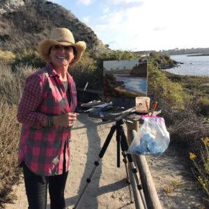 Laguna Plein Air Invitational Artist Michele Usibelli