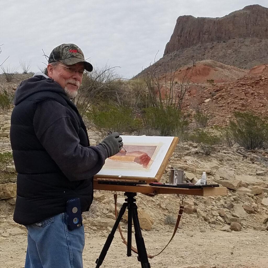 LPAPA Artist Member Tom Brown