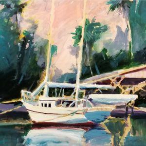 Sailboat by Ken Auster