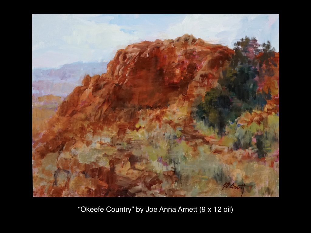 Okeefe Country, Joe Anna Arnett