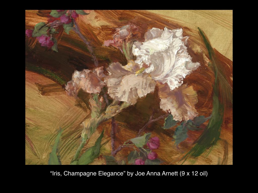 Iris, Champagne Elegance, Joe Anna Arnett