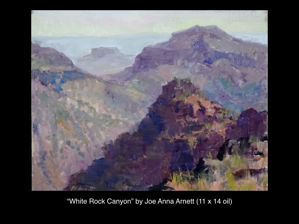 White Rock Canyon, Joe Anna Arnett