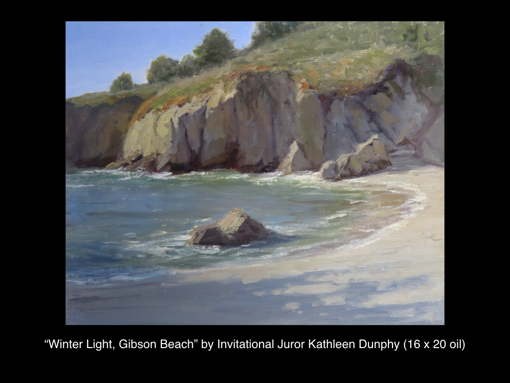 Winter Light, Gibson Beach by Kathleen Dunphy