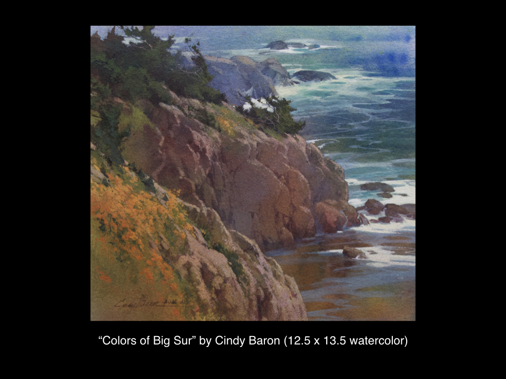 Colors of Big Sur by Cindy Baron
