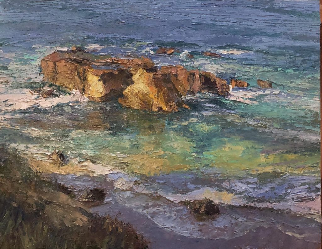 "OutdoorPainter Award ""Split Rock Glow"" by Saim Caglayan"