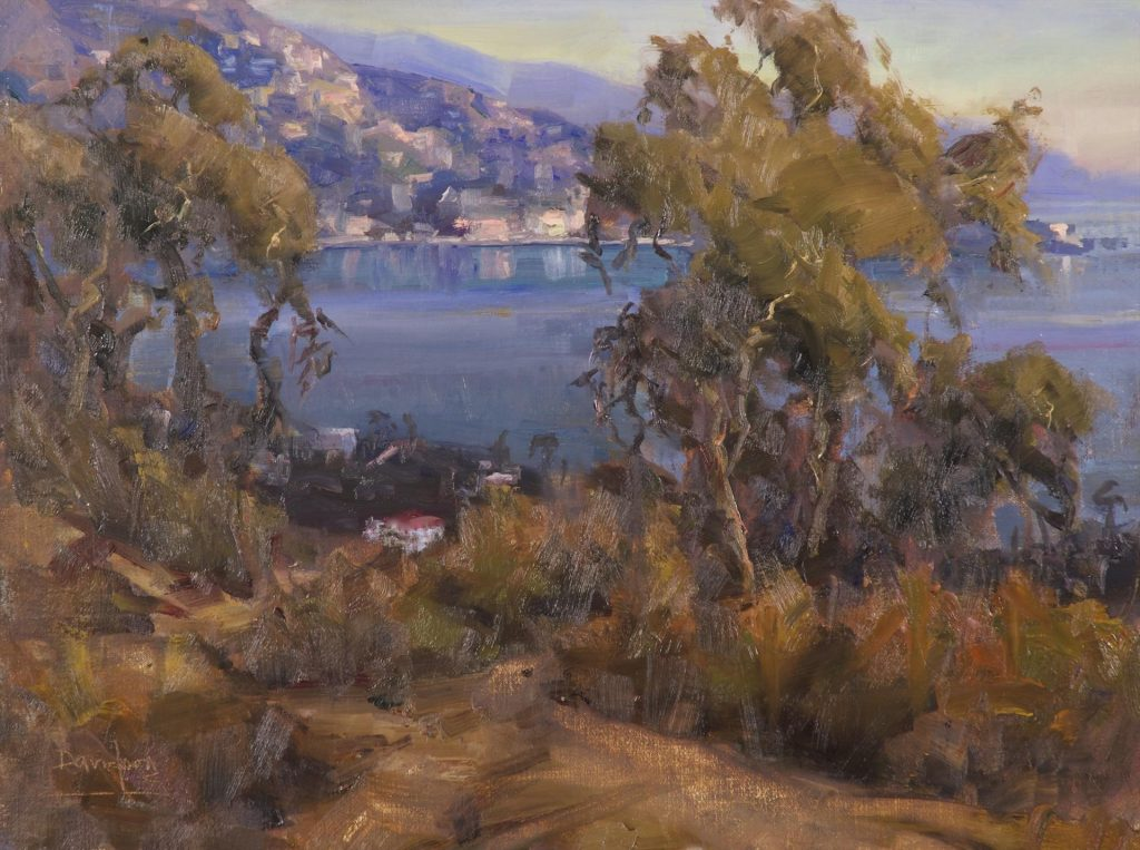 "Plein Air Magazine Award ""Laguna Lights"" by Bill Davidson"