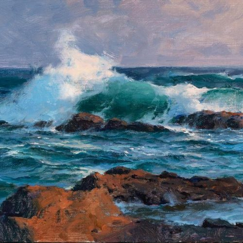 "2020 Laguna Invitational Best in Show ""Laguna Breaker"" by Donald Demers"