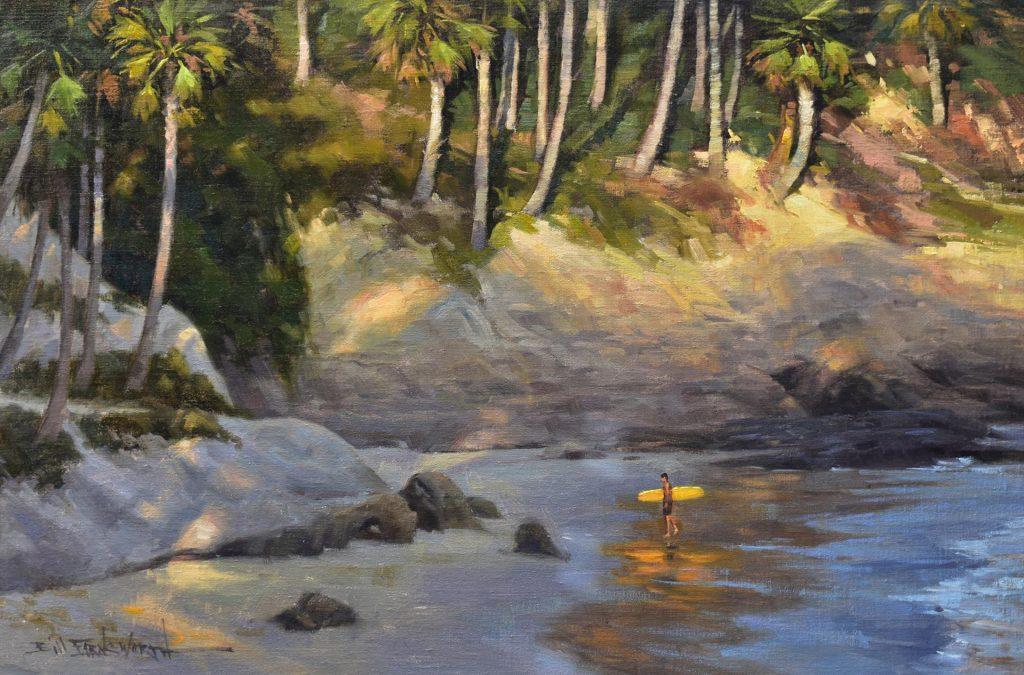 """The UCI-IMCA Award """"Surfin' Safari"""" by Bill Farnsworth"""
