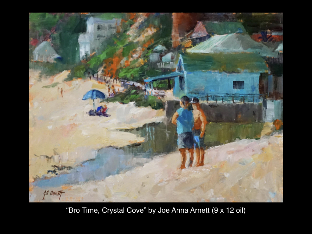 Bro Time, Crystal Cove by Joe Anna Arnett