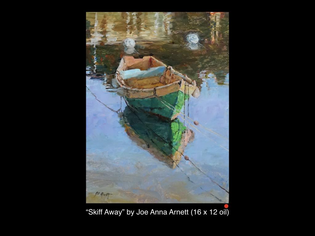 Skiff Away by Joe Anna Arnett