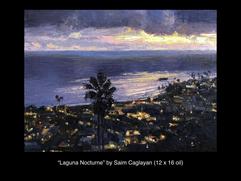 Laguna Nocturne by Saim Caglayan