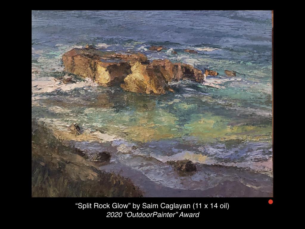 Split Rock Glow by Saim Caglayan