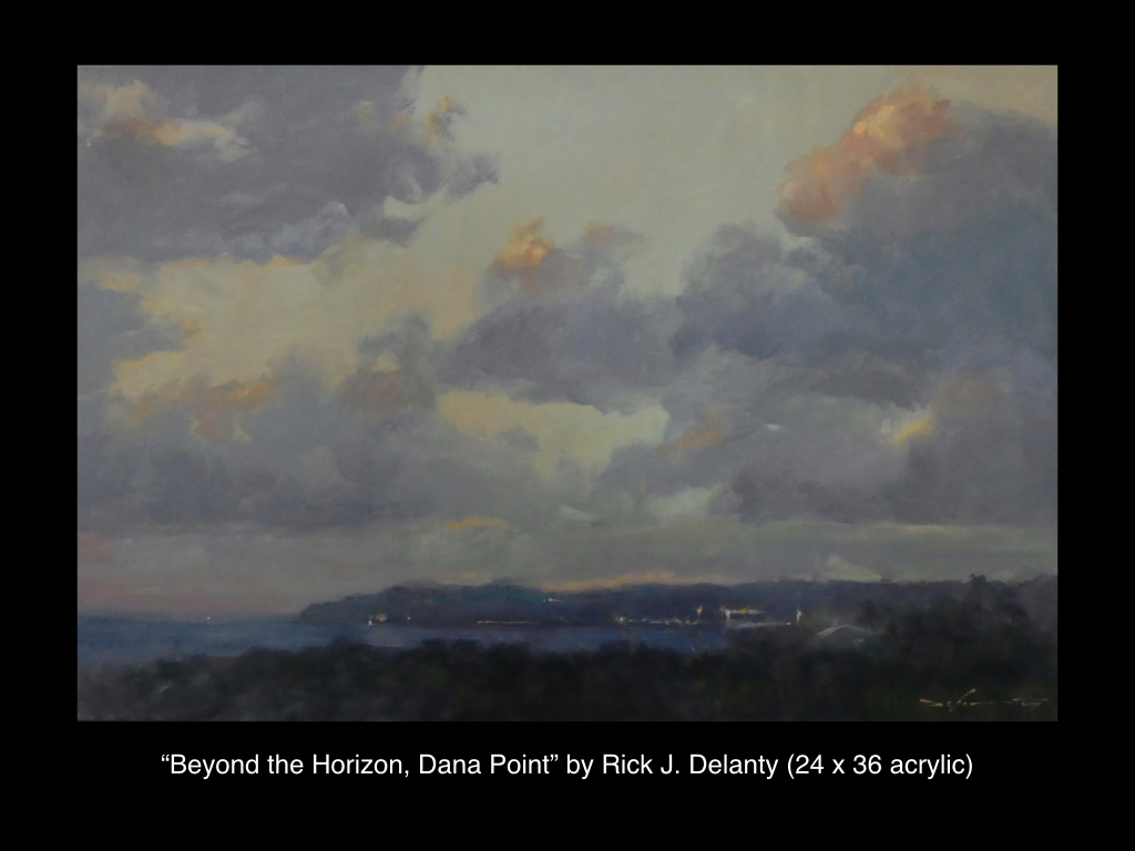 Beyond the Horizon, Dana Point by Rick J. Delanty
