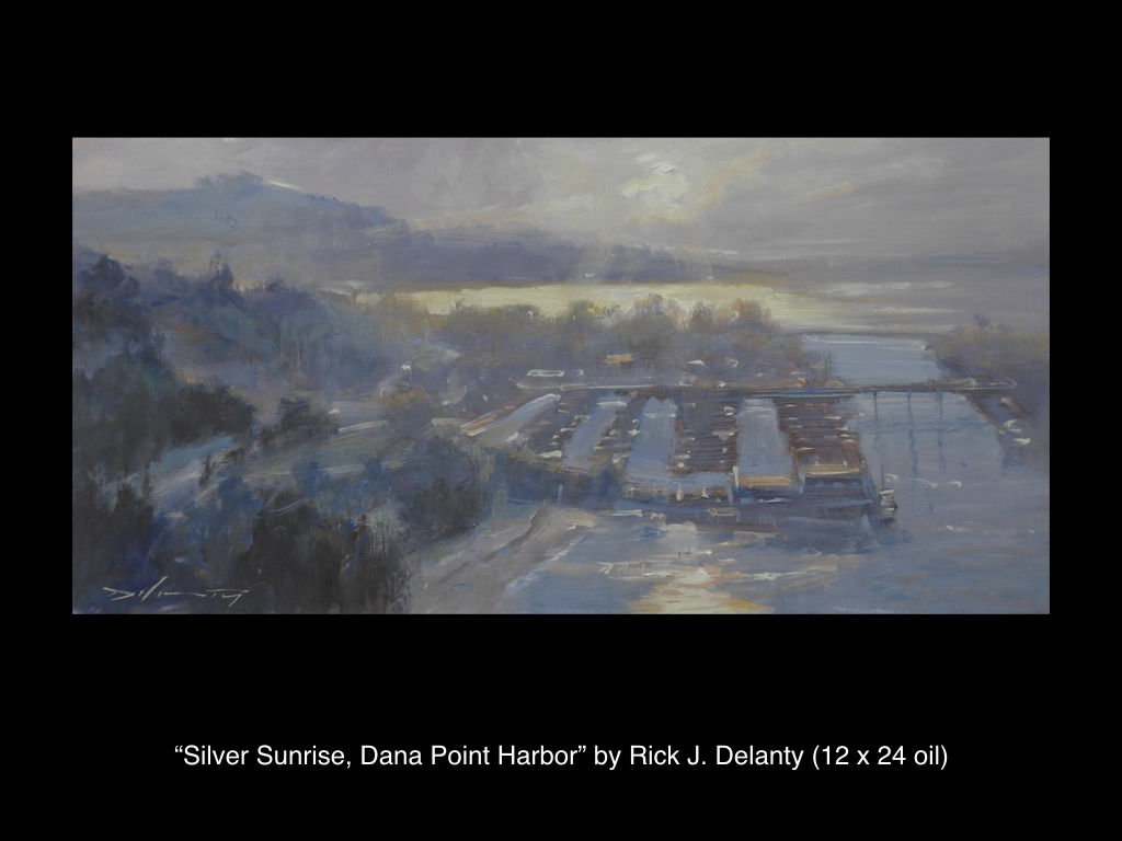 Silver Sunrise, Dana Point Harbor by Rick J. Delanty