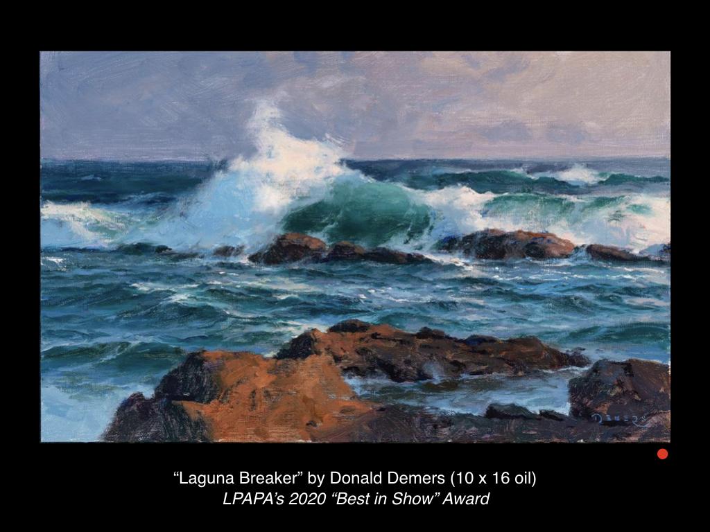 Laguna Breaker by Don Demers