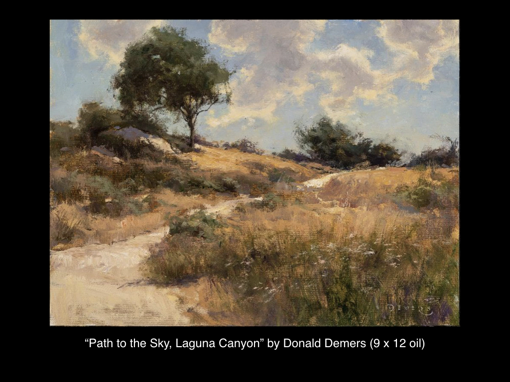 Path to the Sky, Laguna Canyon by Don Demers